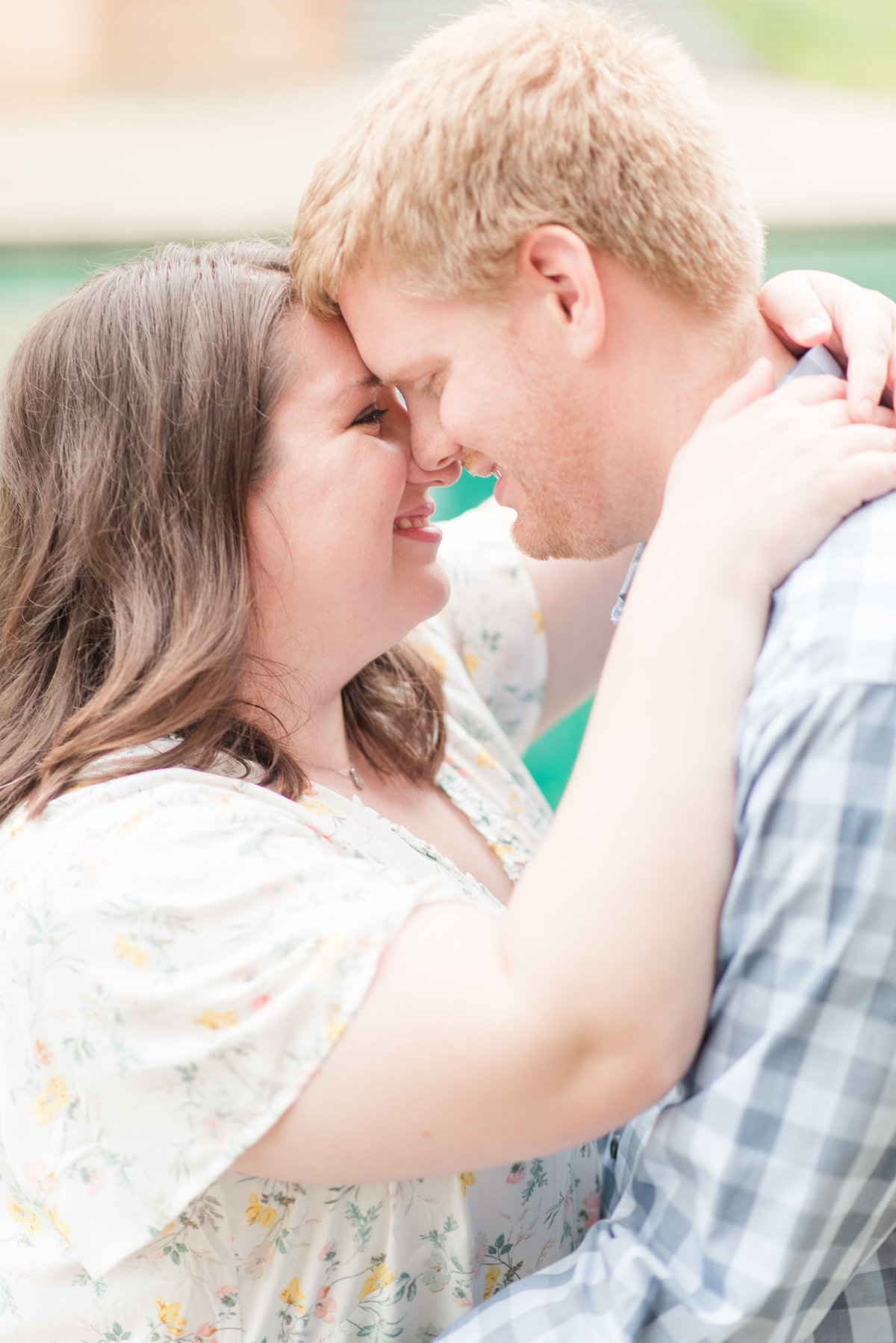 Cait Potter Creative LLC Canal Indianapolis White River State Park Spring Engagement Photos-9