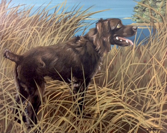 Torregrossa Fine Art Custom Pet Portrait by Stephanie T Gaffney Boykin
