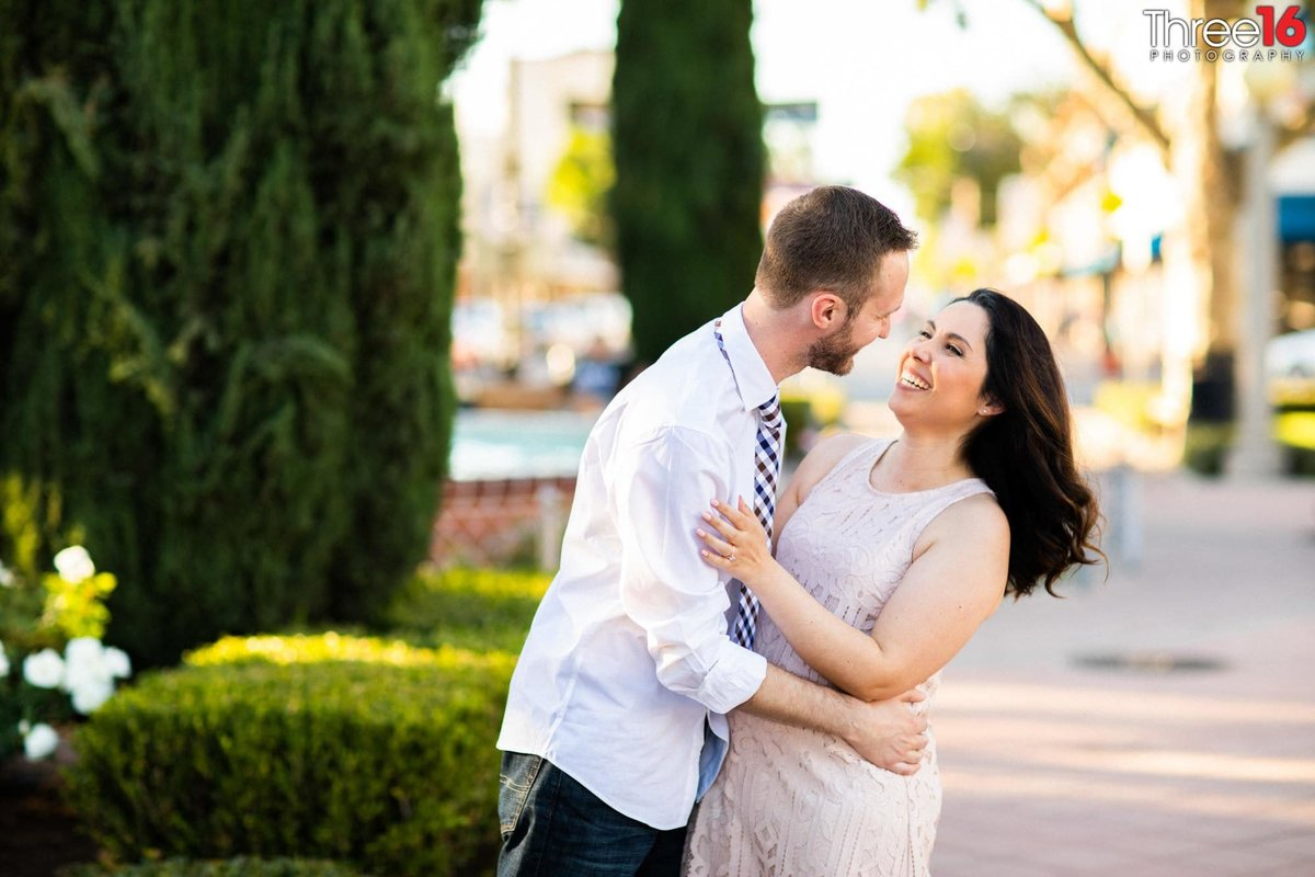 Old Towne Orange Engagement Professional Photography