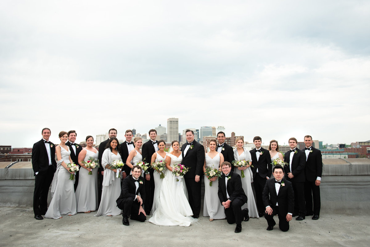 bridal party 409 s main rooftop