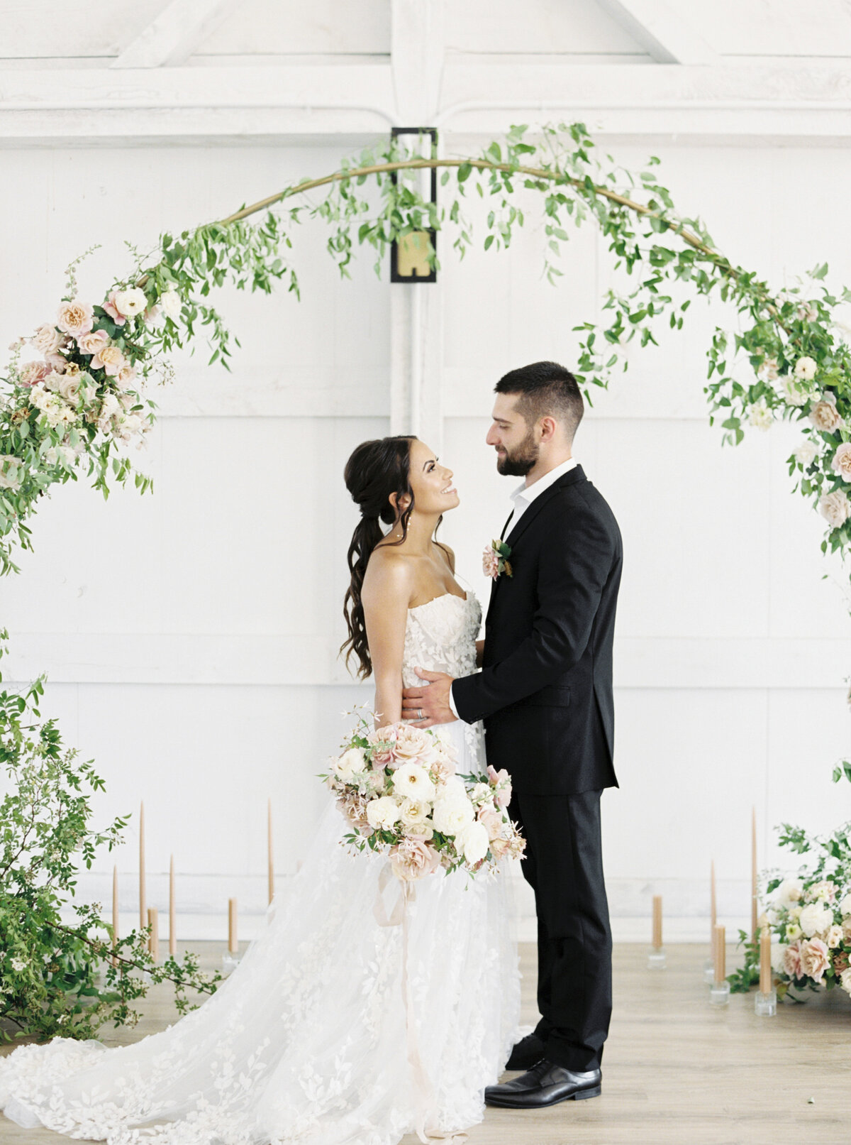The Greenery Intimate Wedding with Always Yours Events 77