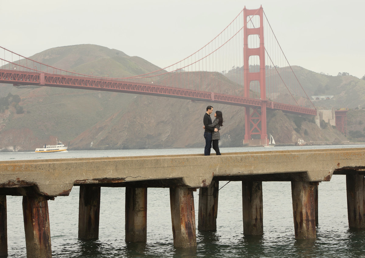 San Fran engagement shoot