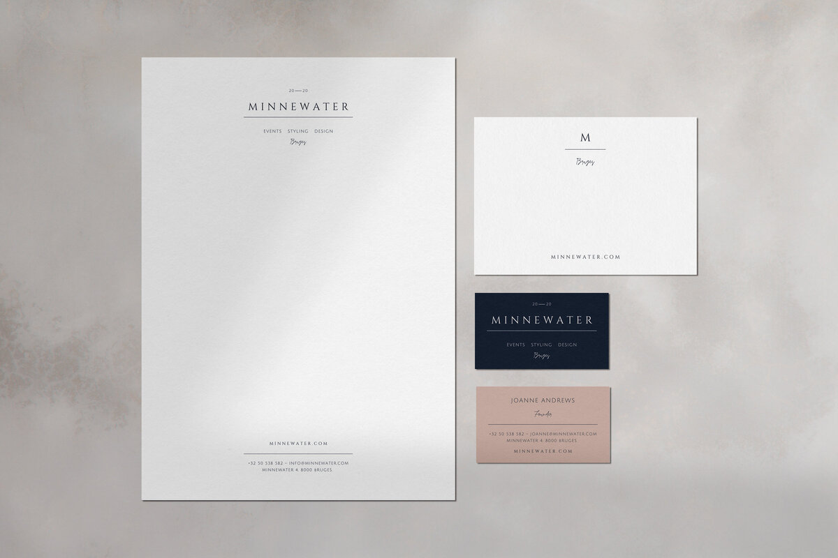 Minnewater-stationery