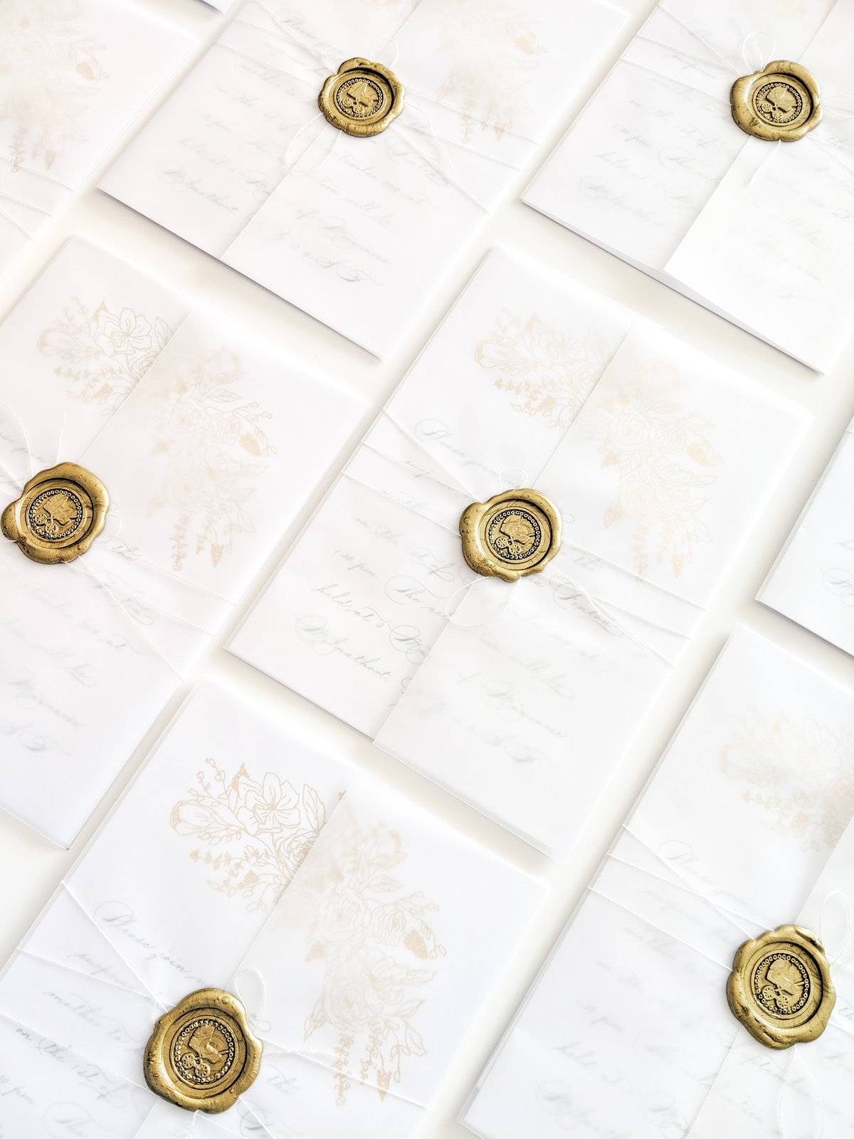 Wax Seal and Vellum Invitations | Jenni Liandu Calligraphy