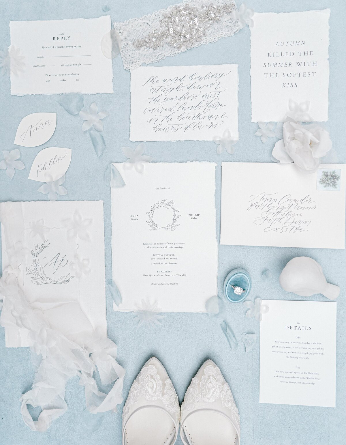 St Audries Wedding Stationary-206