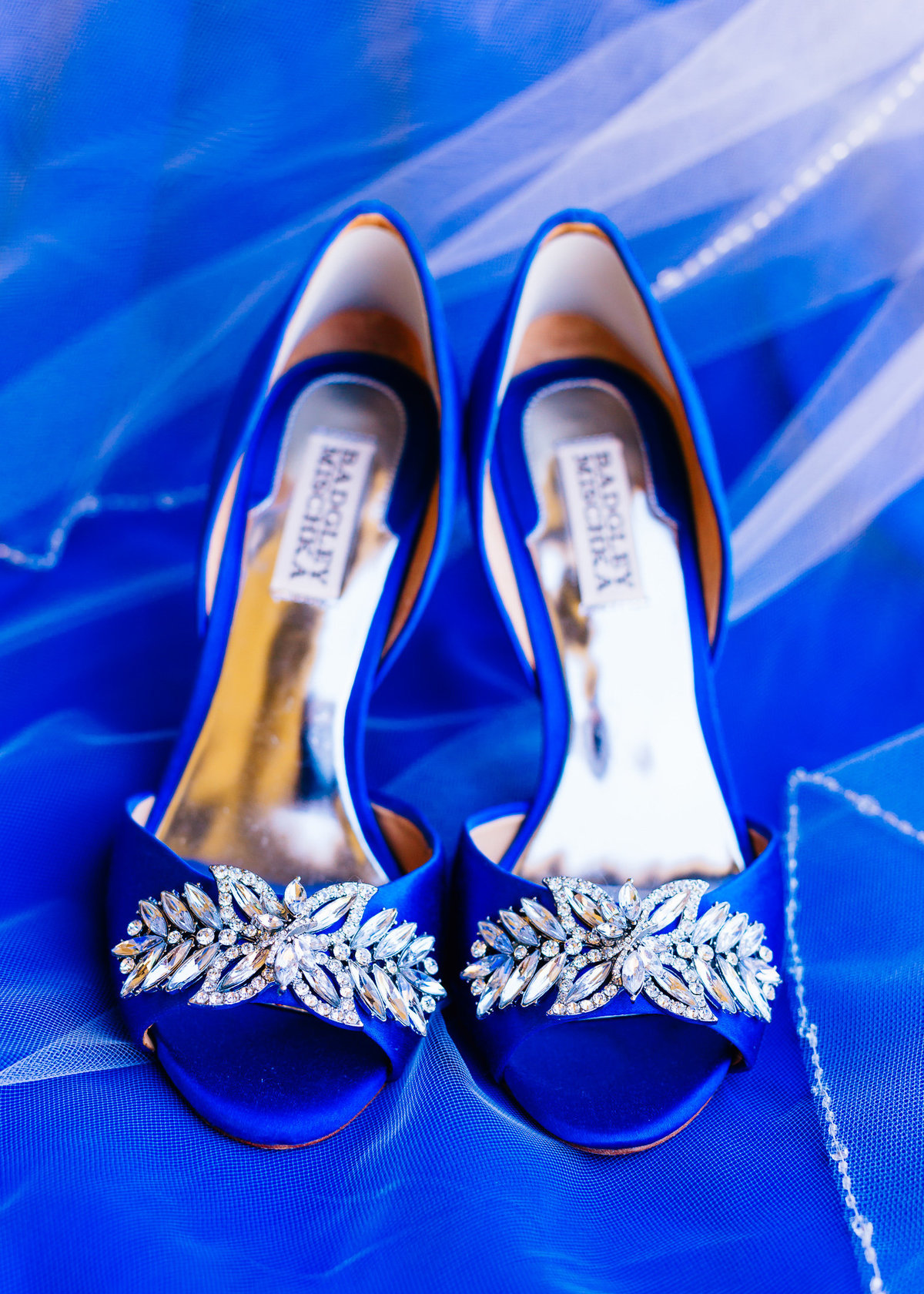 Colorful Badgley Mischka Shoes Wedding-1