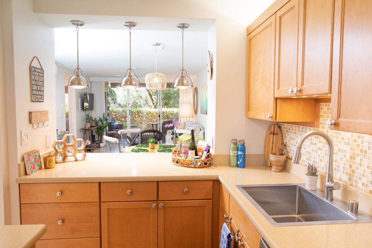 Maui Real Estate Photography - kitchen