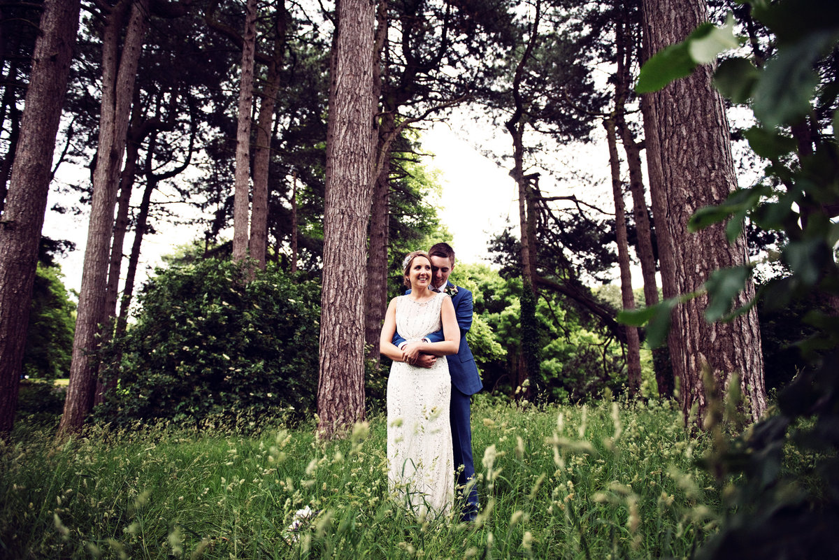 In the woods at Sefton Park Palm House Weddings
