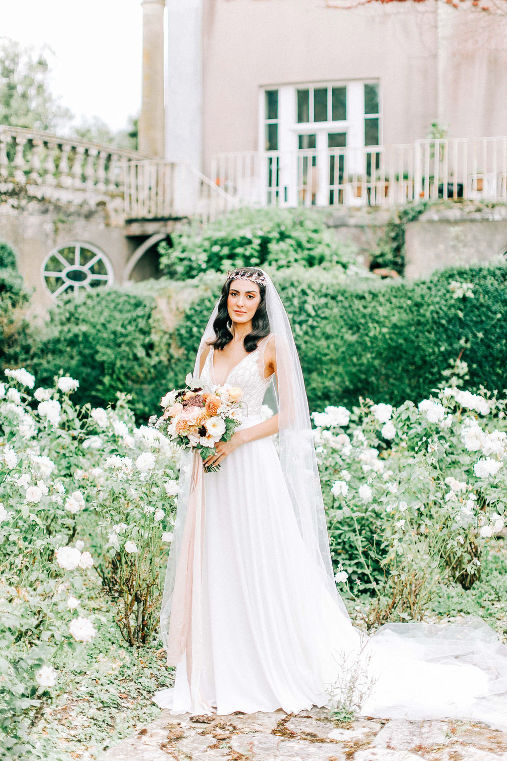 Elegant Wedding Dress for Country House Wedding Venue Hampshire