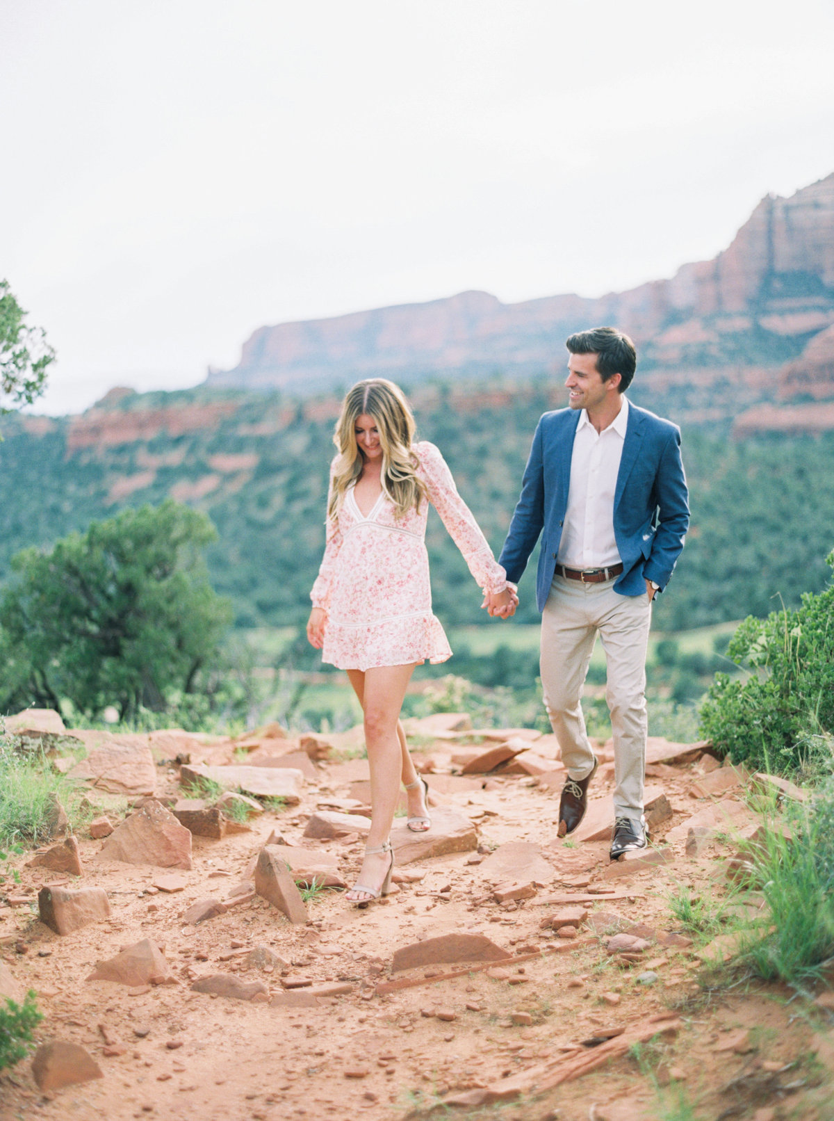 Sedona Arizona Engagement Session - Mary Claire Photography-6