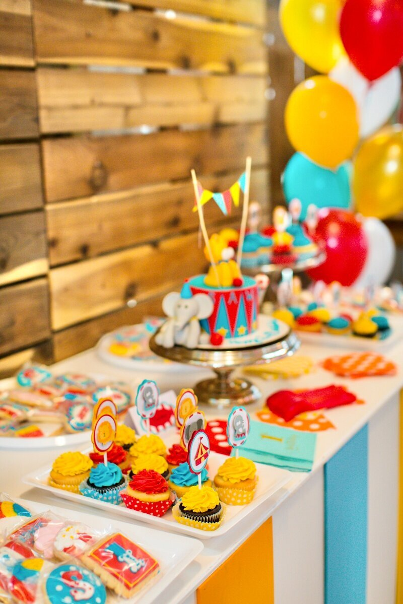 Circus Themed 1st Birthday Indianapolis Party Planner_0096