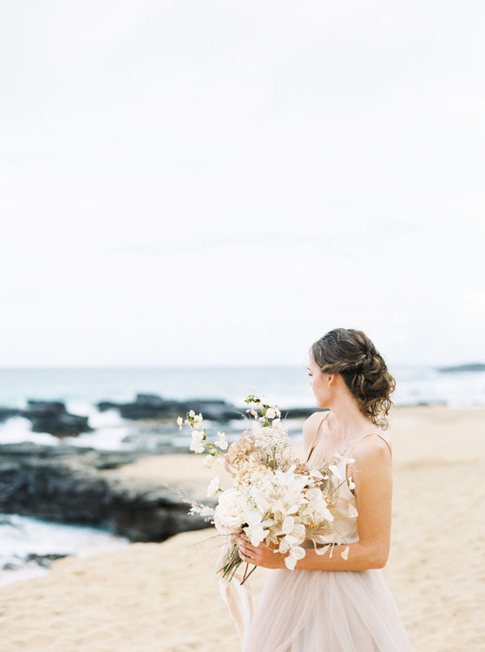 Hawaii Destination Wedding Photographer Sheri McMahon - Hawaii Beach Elopement-00007