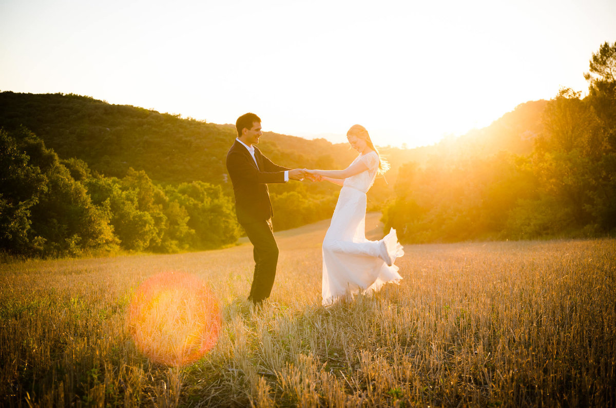Beautiful Pre-Wedding Session in Provence