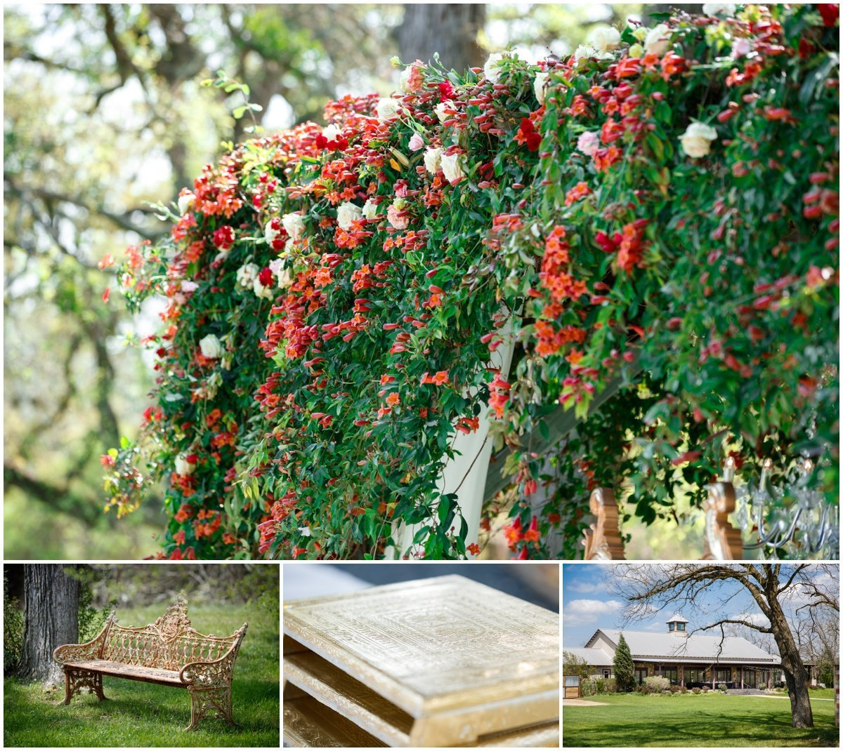 Austin wedding photographer pecan springs ranch wedding photographer ceremony area indian wedding