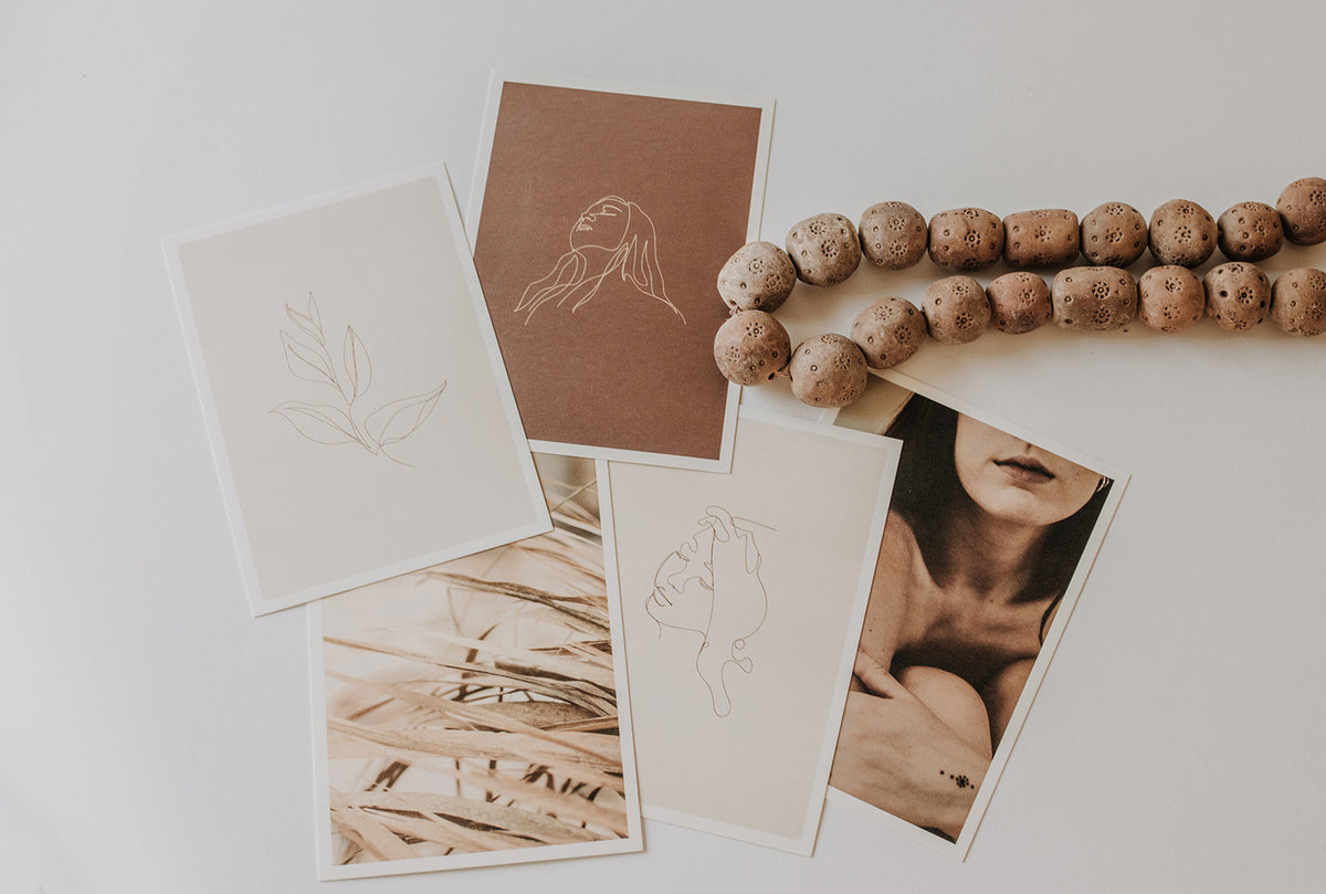 prints with carved beads
