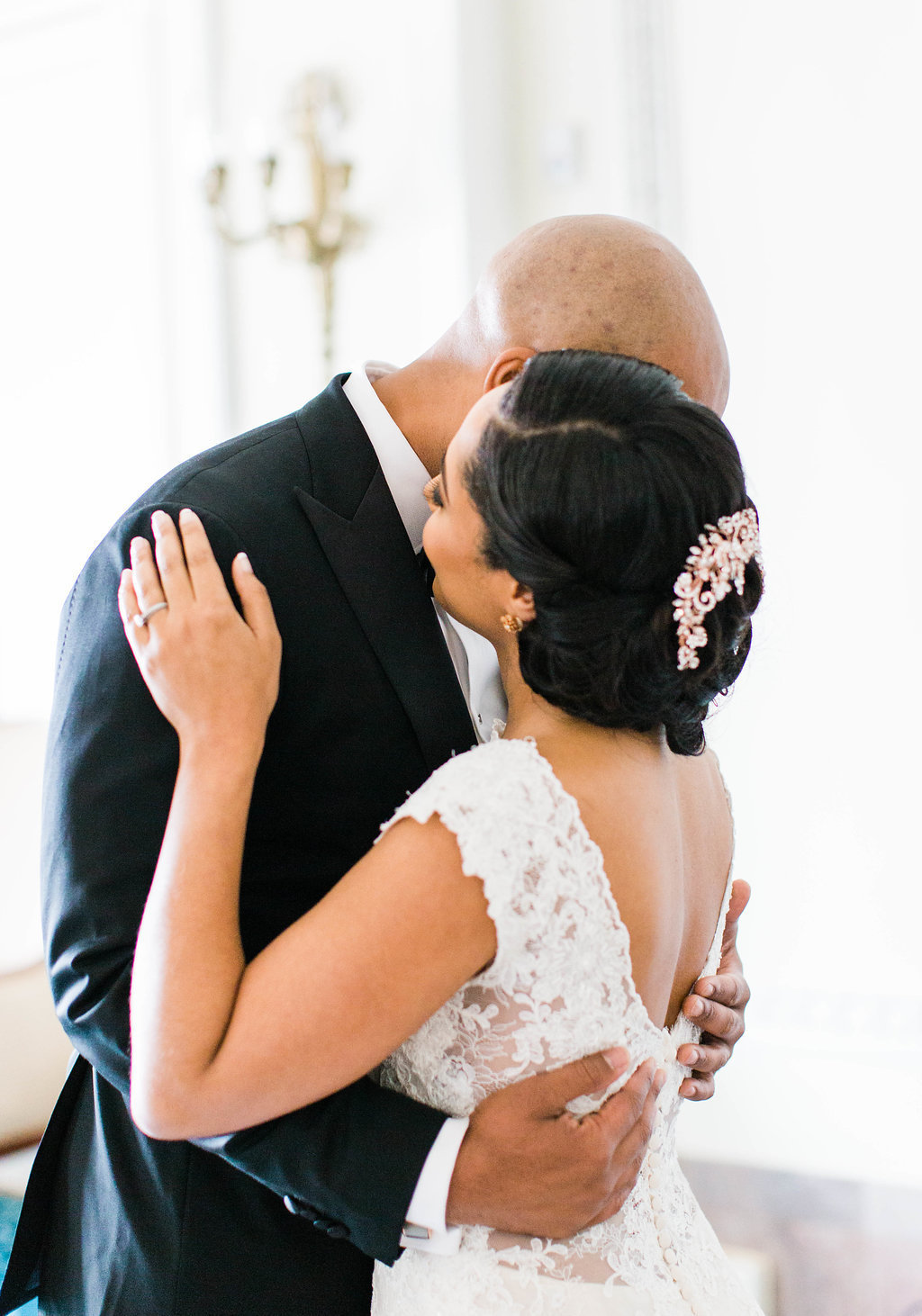 Romantic Richmond VA wedding photographer