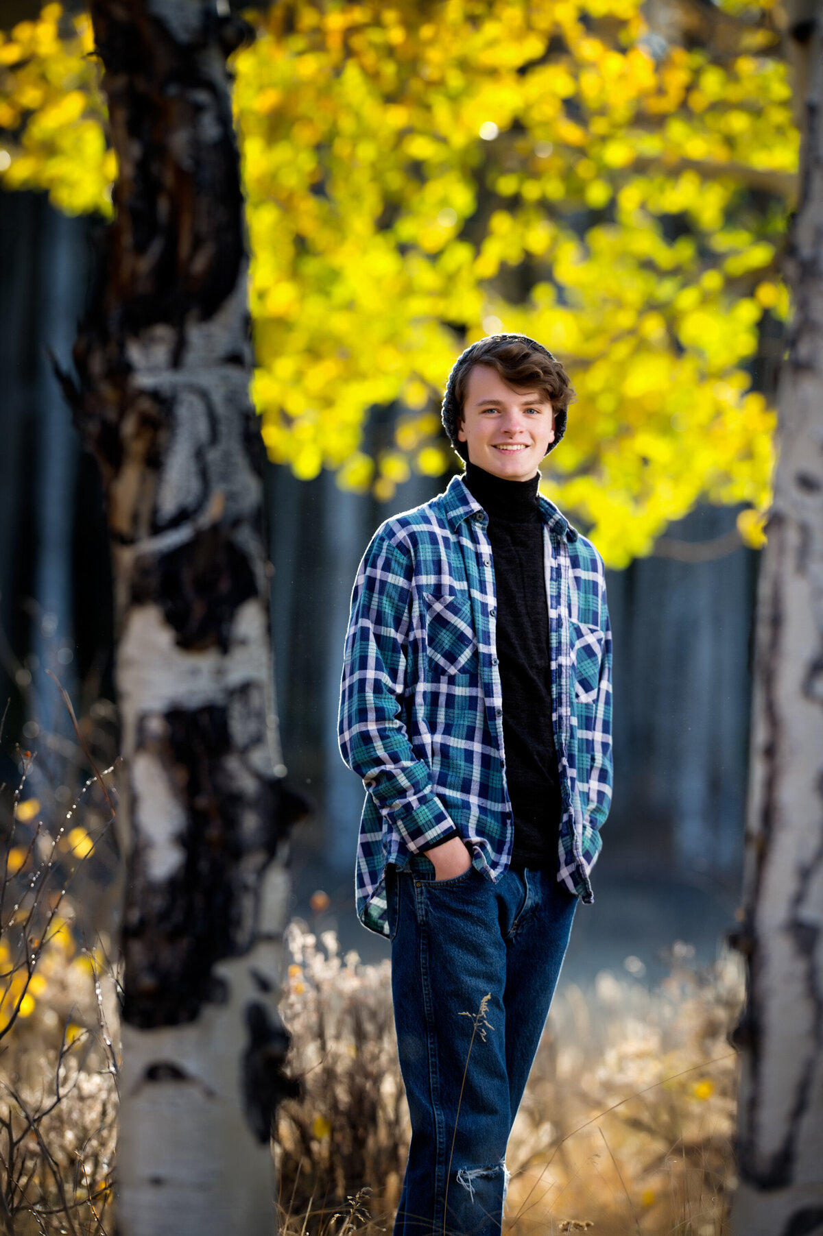 Denver Senior Photo Nature Fall
