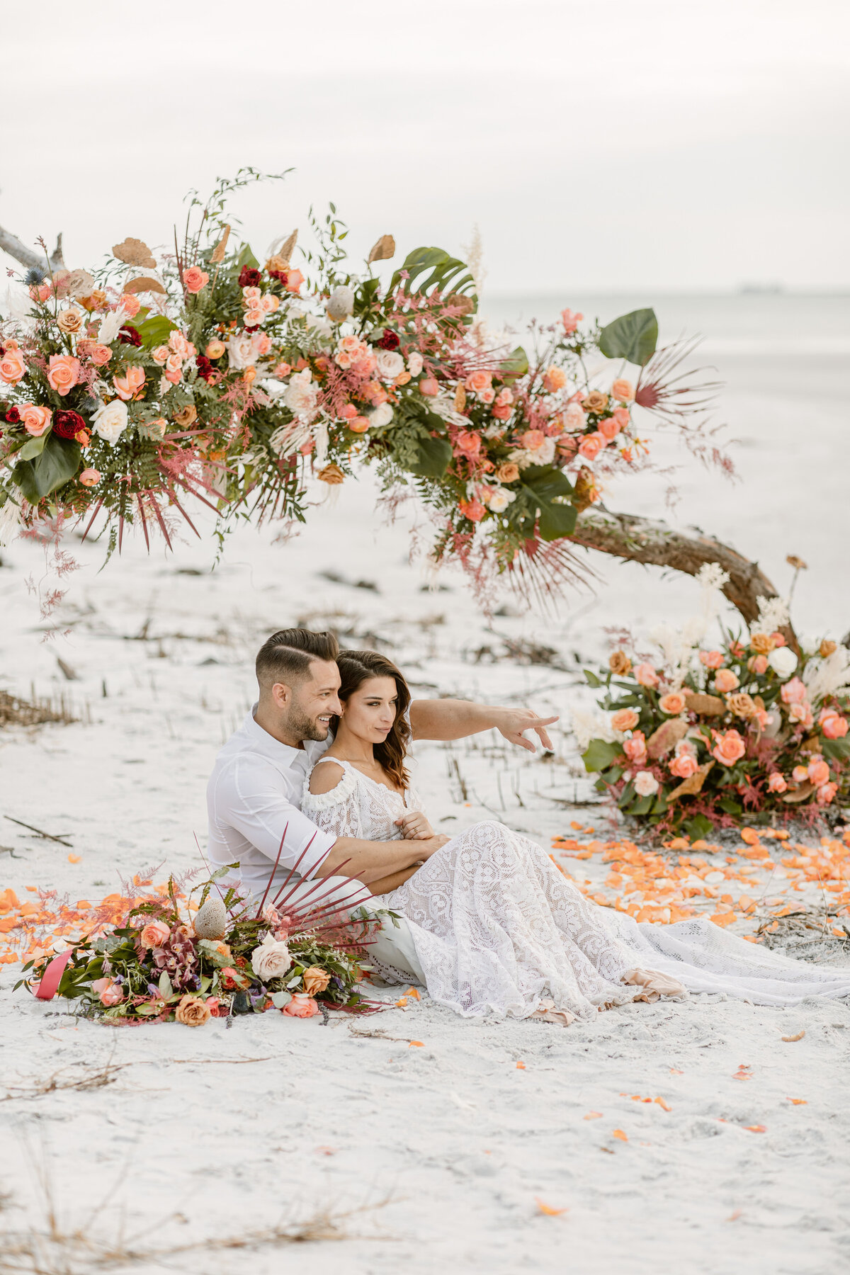 Beach Elopement in Saint Petersburg, Florida 18