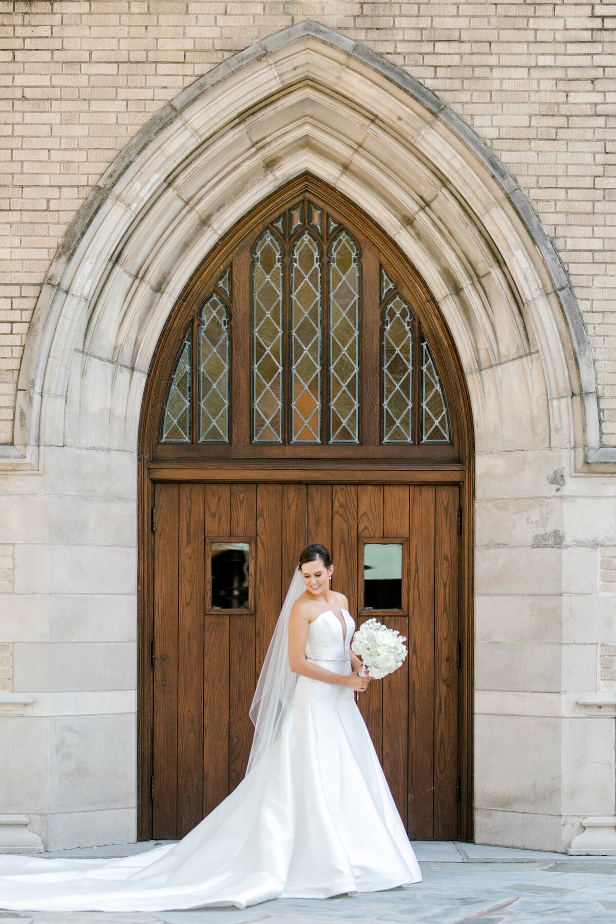 Wedding at the Crescent Court Hotel and Highland Park United Methodist Church in Dallas | Sami Kathryn Photography | DFW Wedding Photographer-132