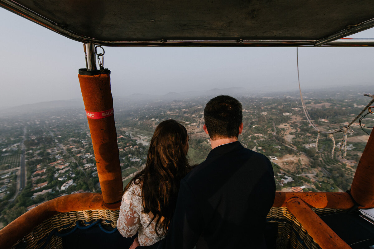 Hot Air Balloon Elopement Marie Monforte Photography-118