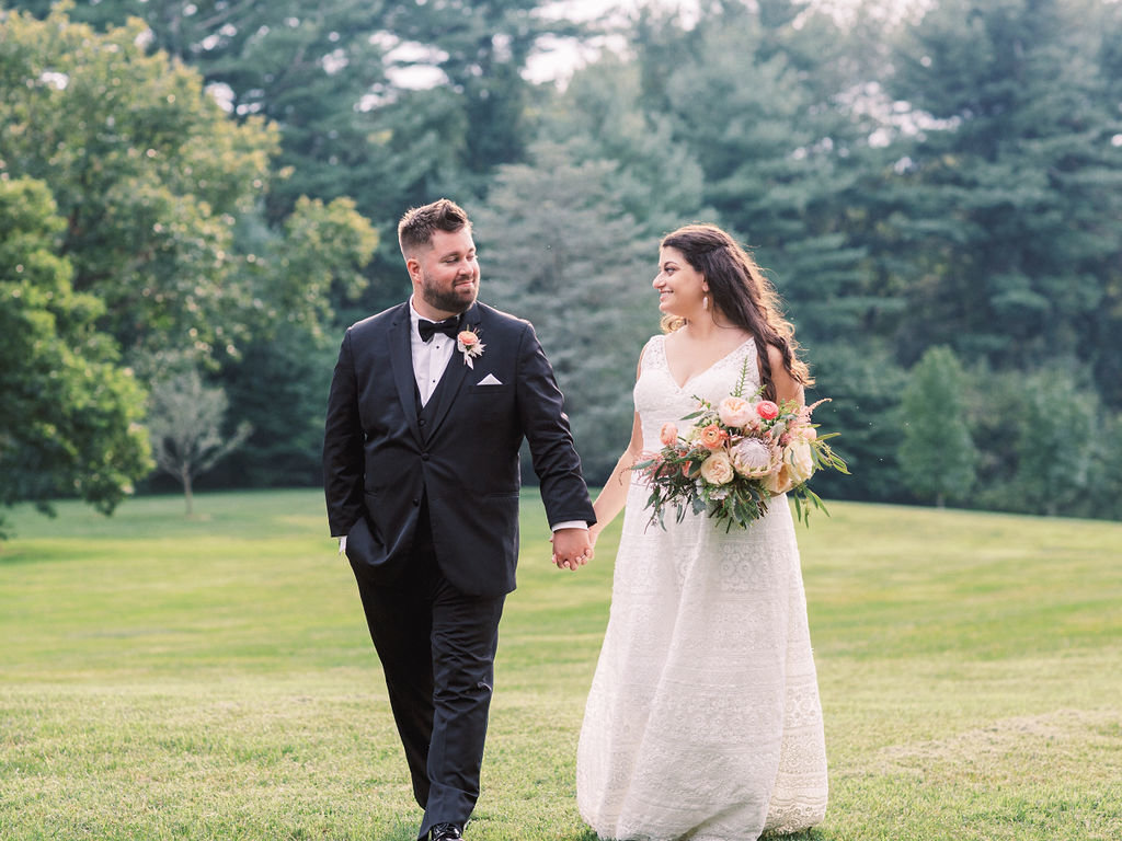groom bride greenville country club wedding delaware