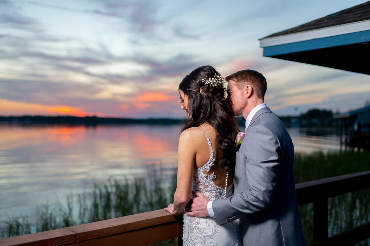 Orlando Wedding Photographer | Town Manor Wedding | Bride and Groom Portraits-4