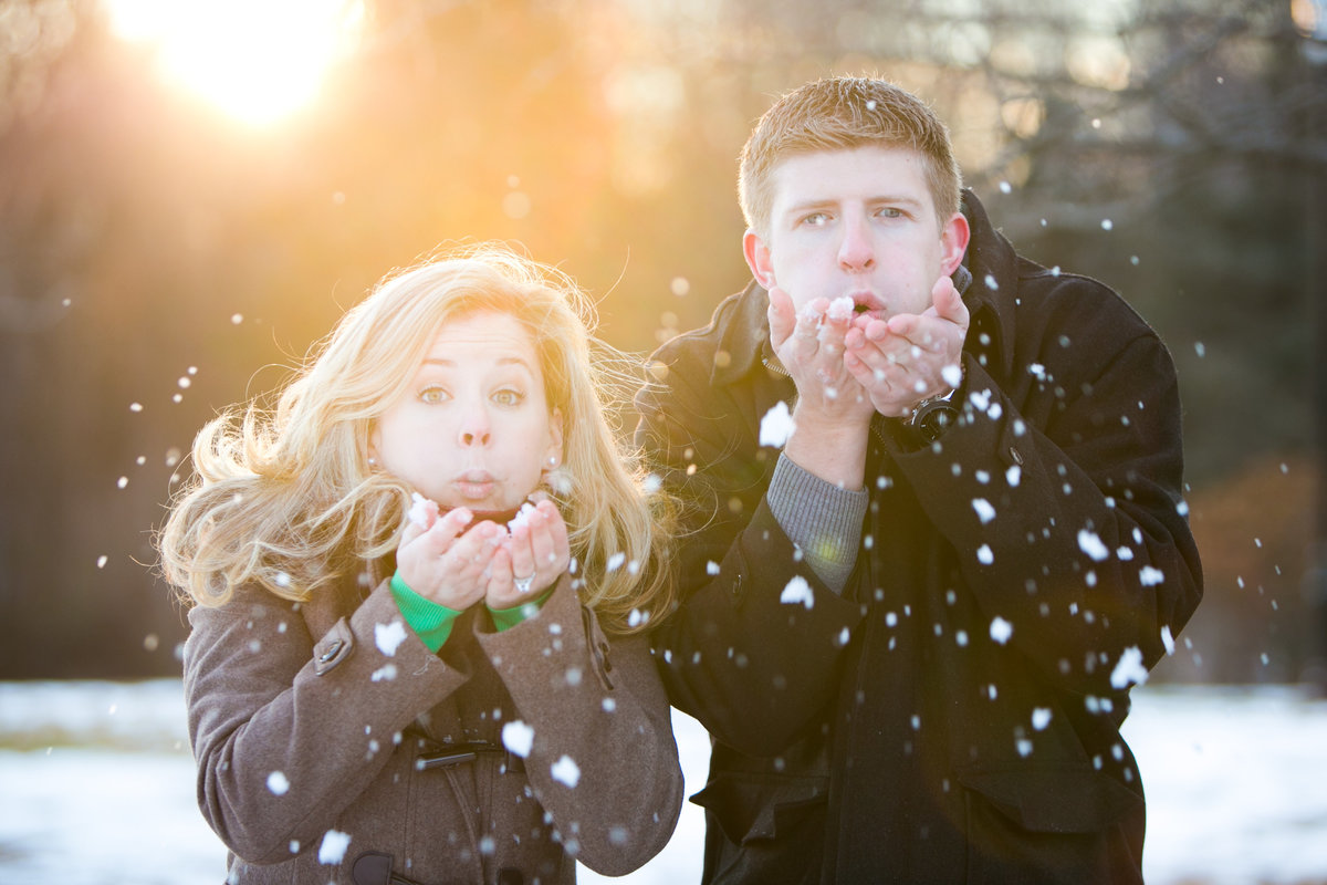 Maryland-Snow-Engagement-Photos