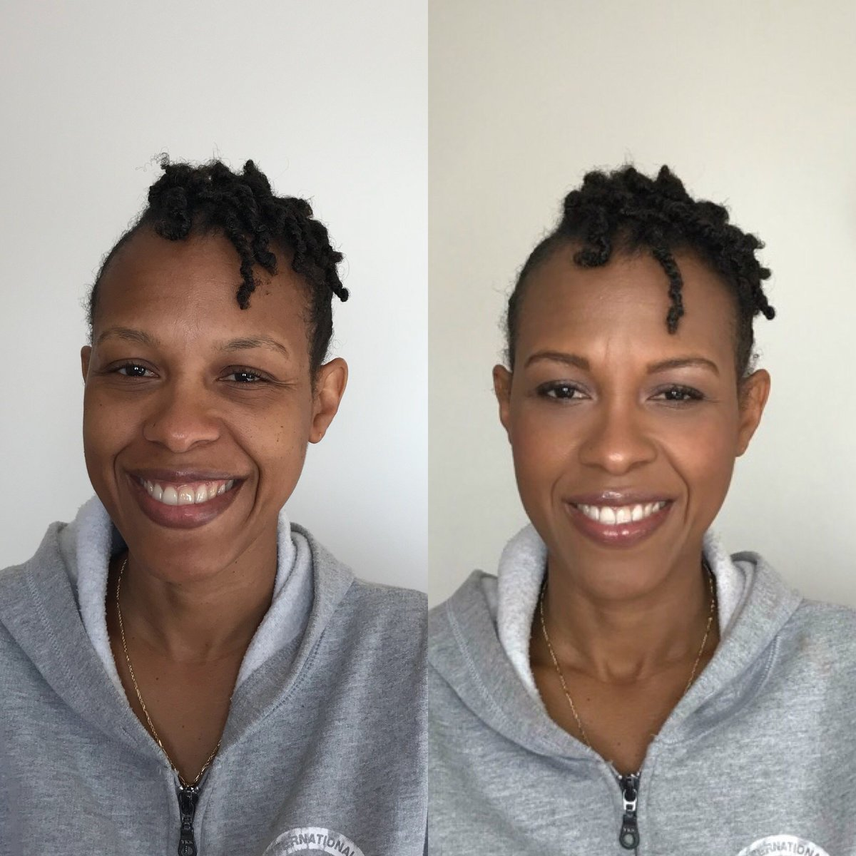 Before and After Natalie Setareh Makeup Artist WOC Lifestyle
