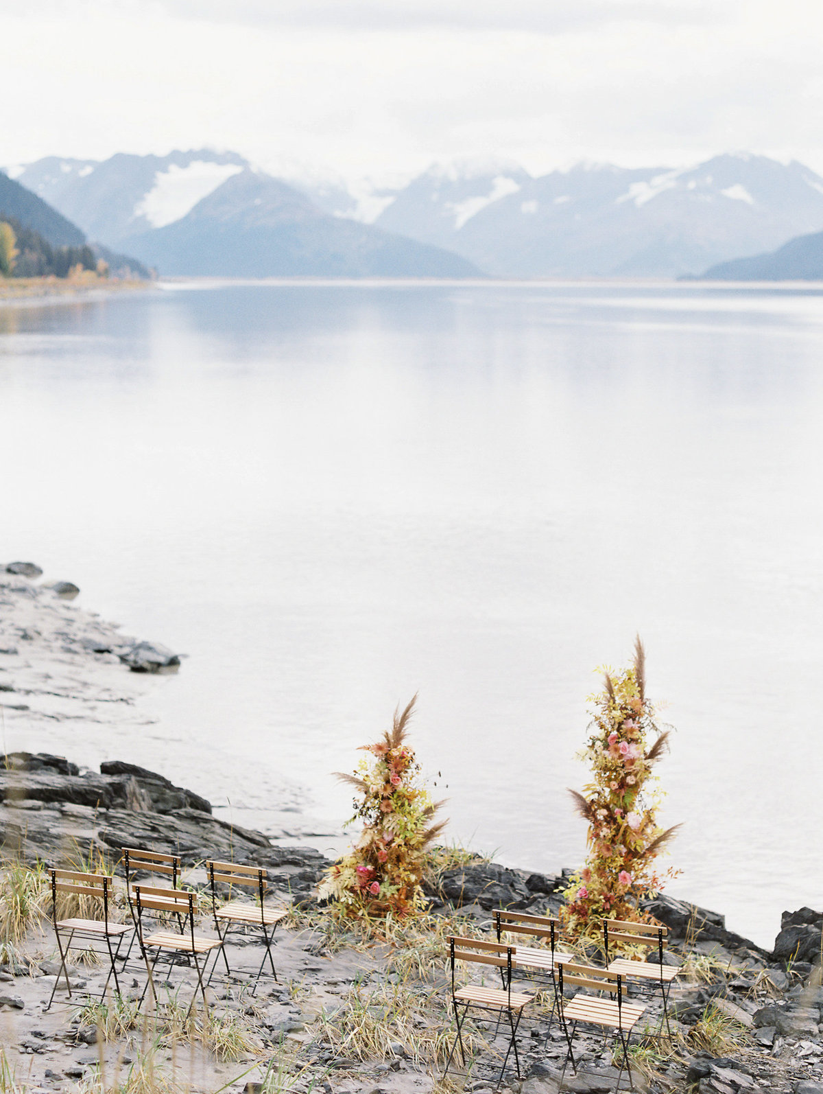 Alaska elopement Turnagain Arm