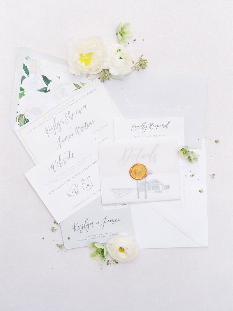 pirouettepaper.com | Wedding Stationery, Signage and Invitations | Pirouette Paper Company | Scripps Seaside Forum La Jolla Wedding | Savan Photography _ (26)