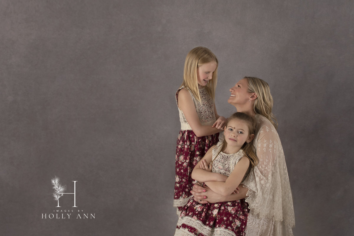 mommy and me  studio portrait session glens falls ny