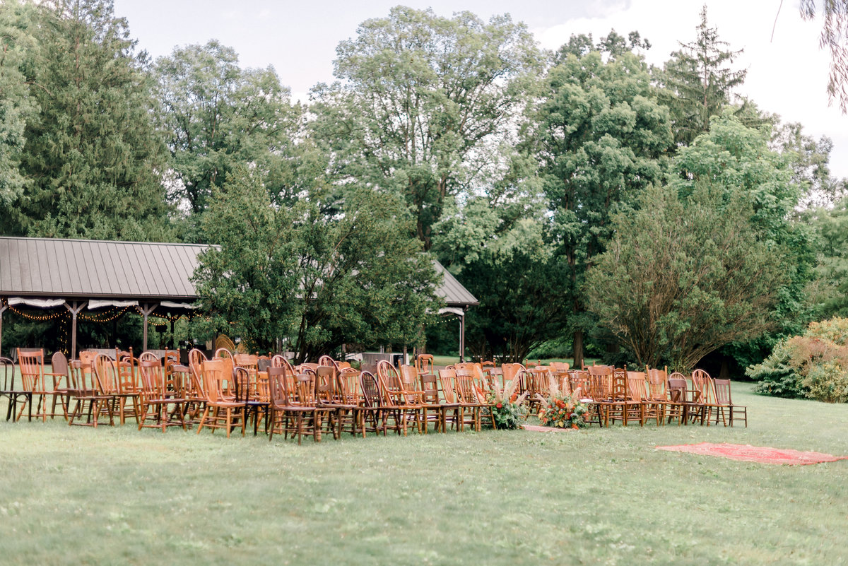 Ceremony Mismtached Chairs