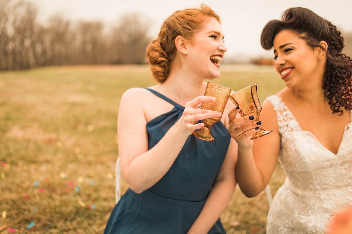 Retro Styled Shoot - Sophia and Andrew - St Louis Wedding Photographer - Allison Slater Photography 365