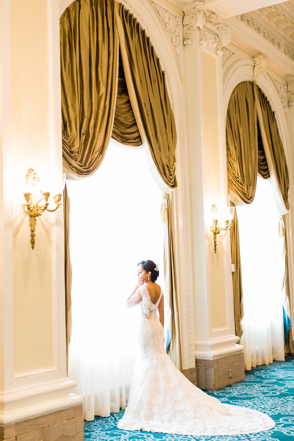 Jefferson Hotel wedding photography