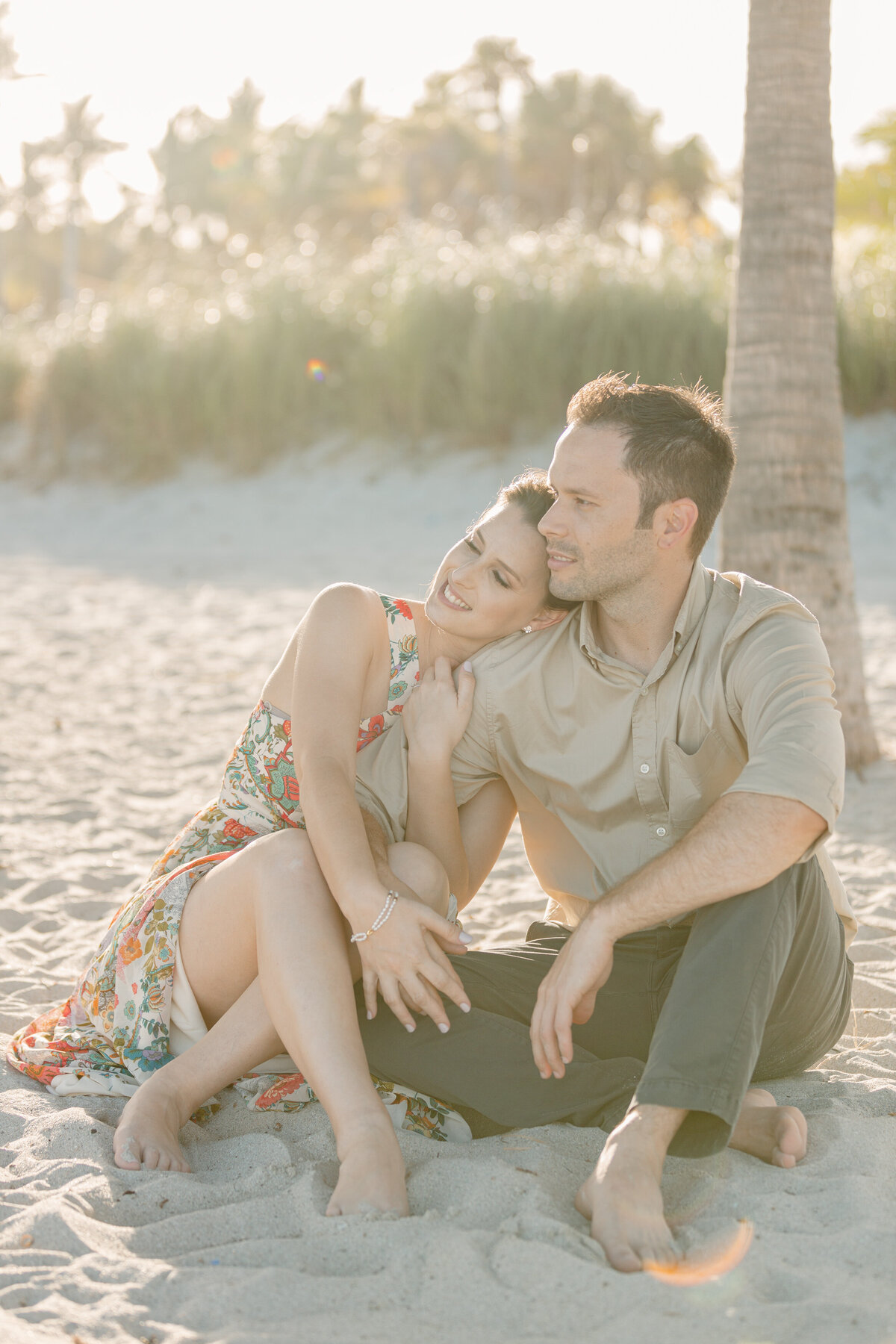 Fairchild Tropical Gardens Engagement Photography Session 9