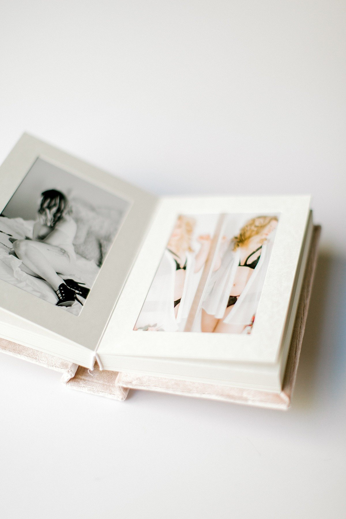 Luxe Matte Linen Velvet Fine Art Boudoir Album Hampton Roads Norfolk VA Beach Yours Truly Portraiture-13