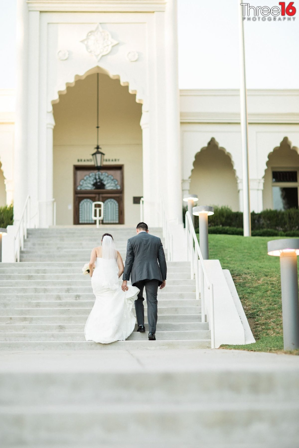 Brand Library Park Wedding in Glendale Photography_