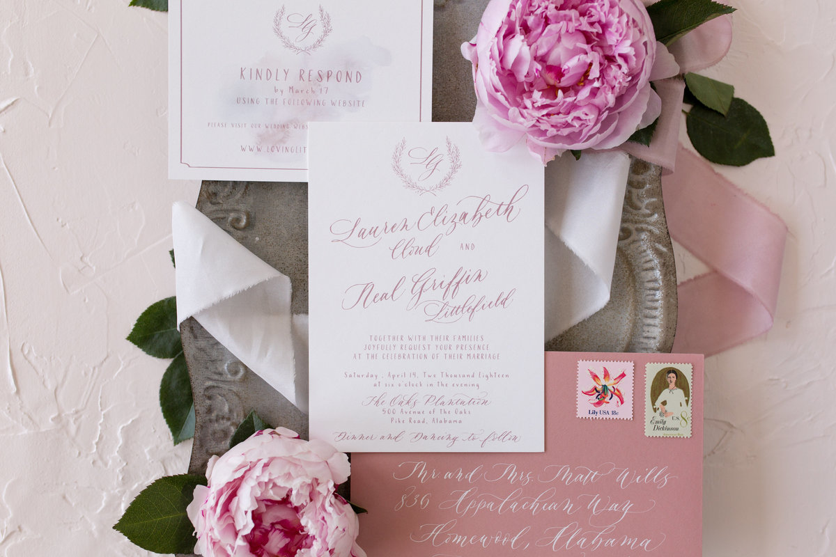 Scribbles & Swirls Stationery & Calligraphy | Lauren & Neal | Dallas Wedding Photographer | Sami Kathryn Photography-7