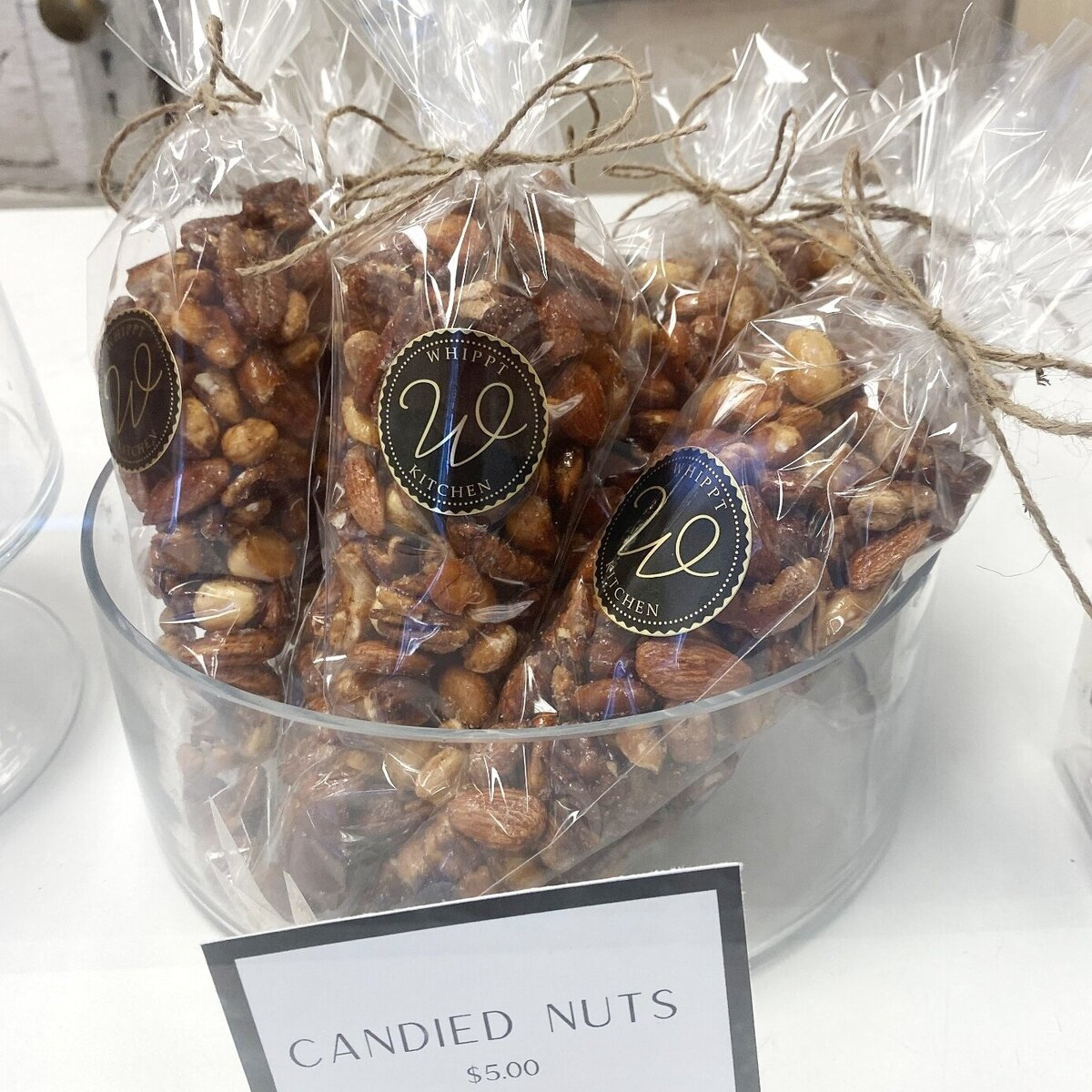 Whippt Kitchen candied nuts