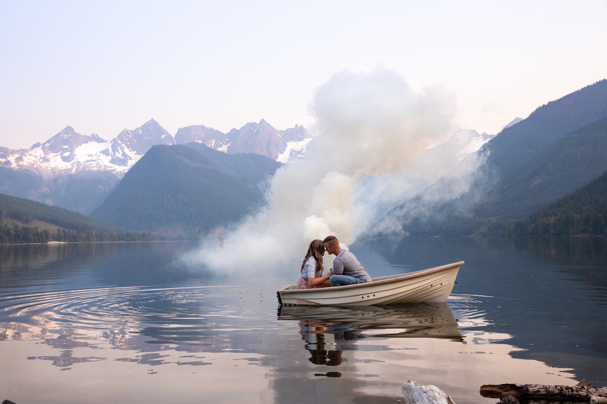Wahleach Lake Adventure Engagement Chilliwack Elopement (2)