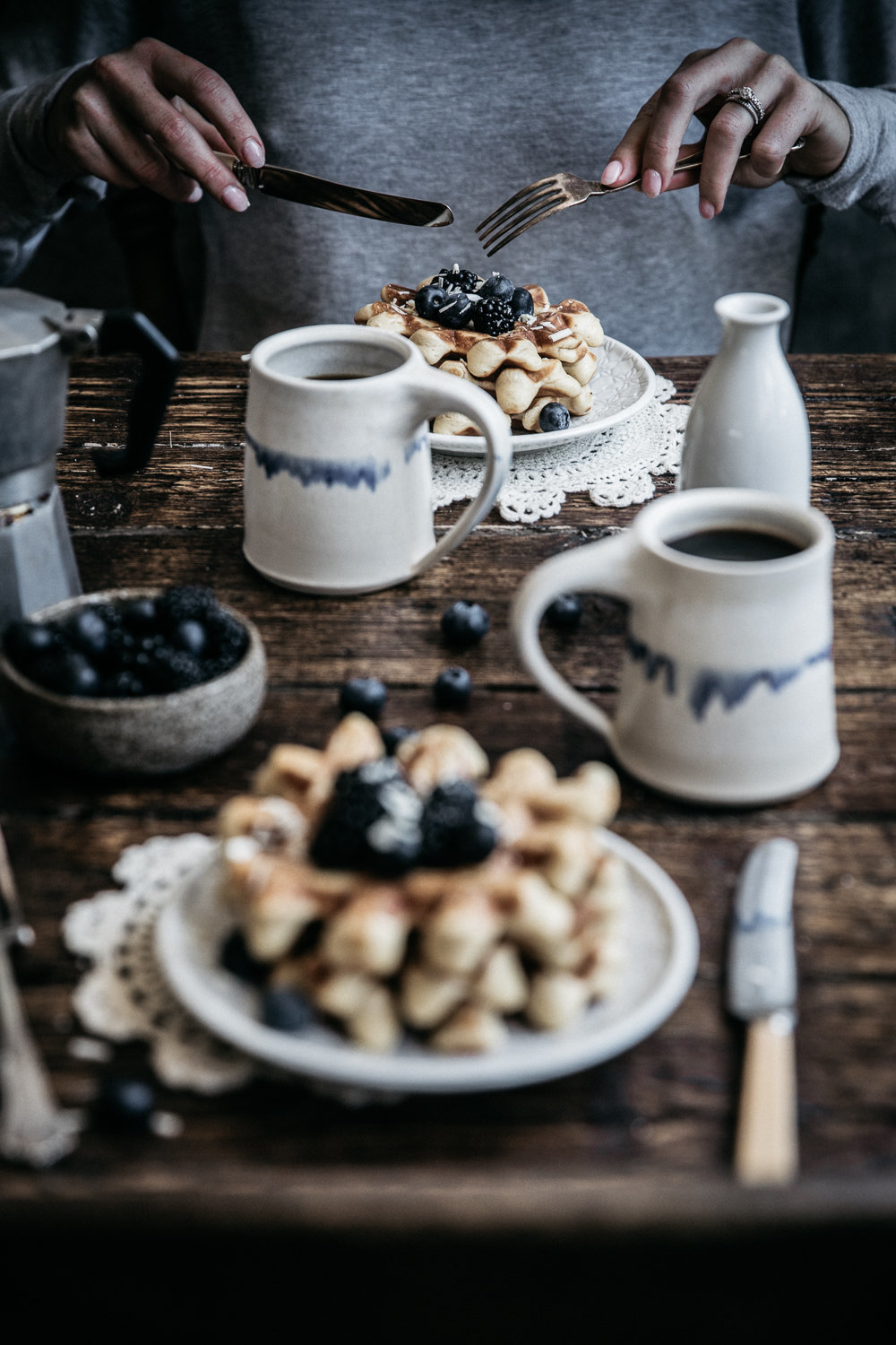 Vanilla Bean Buttermilk Waffles  | Anisa Sabet | The Macadames | Food Styling | Food Photography33