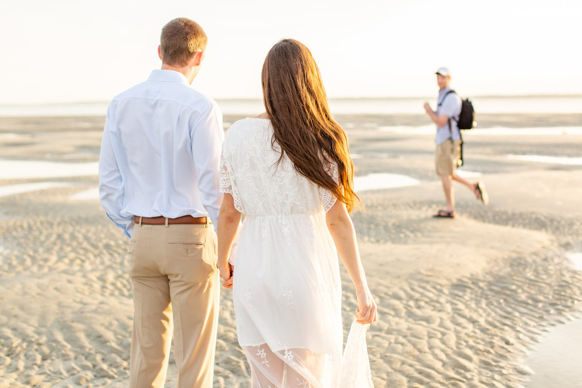 Sarah and Alec East Beach BTS -5