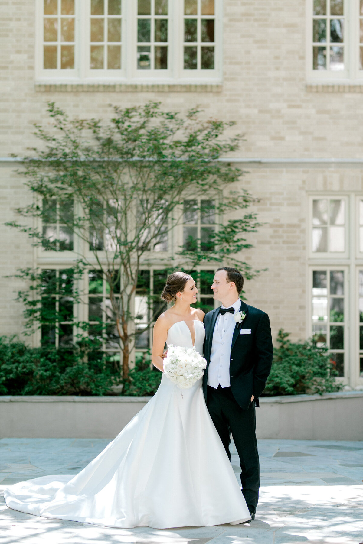 Wedding at the Crescent Court Hotel and Highland Park United Methodist Church in Dallas | Sami Kathryn Photography | DFW Wedding Photographer-99