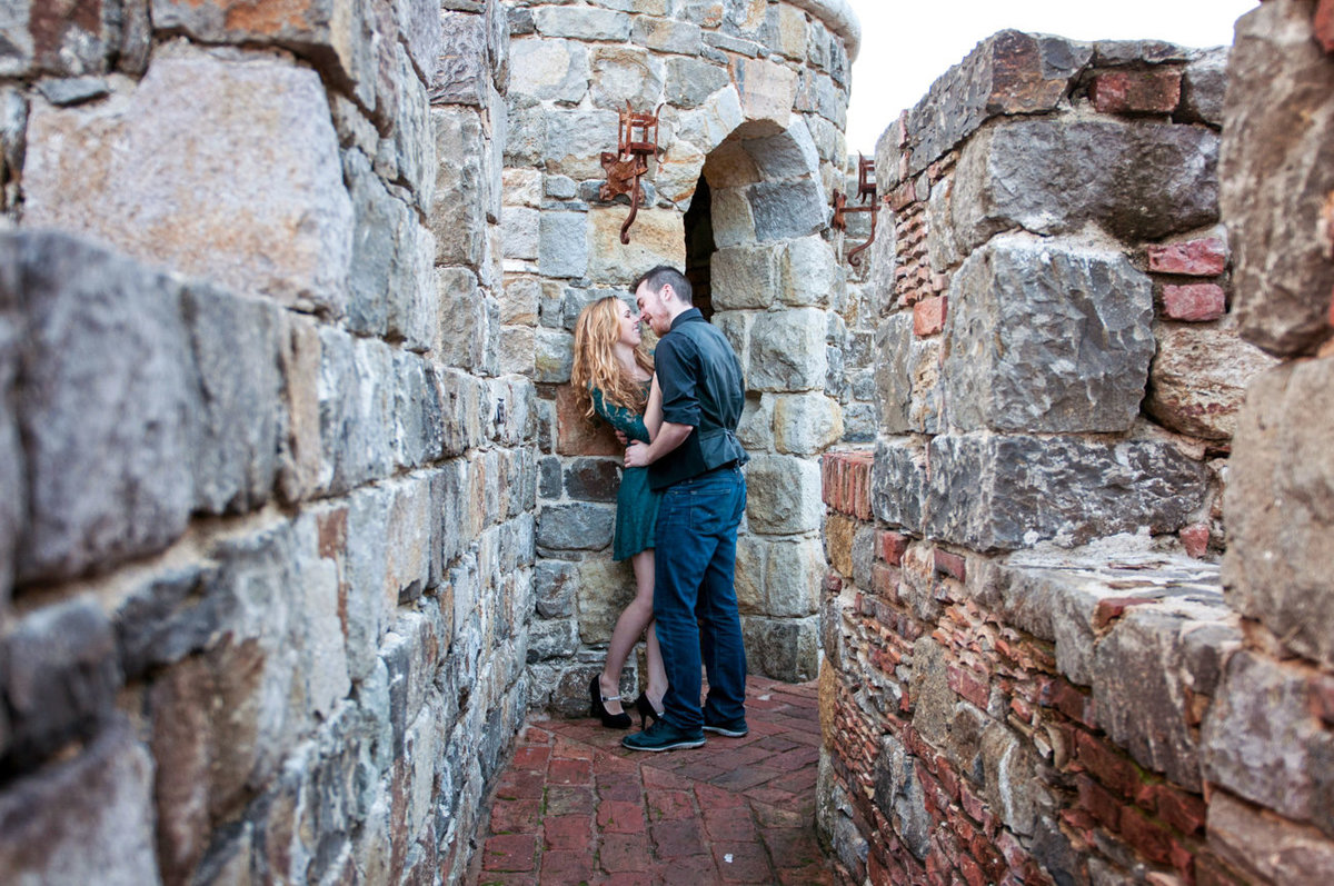 Castello di Amorosa Engagement Photography