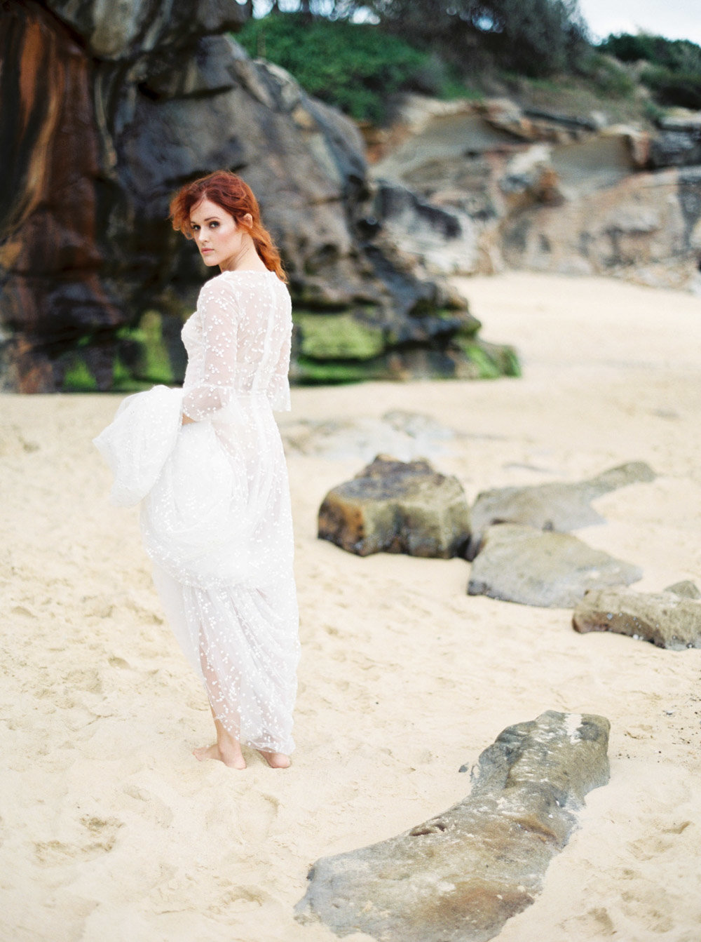 Sydney Fine Art Film Wedding Photographer Sheri McMahon - Sydney NSW Australia Beach Wedding Inspiration-00039