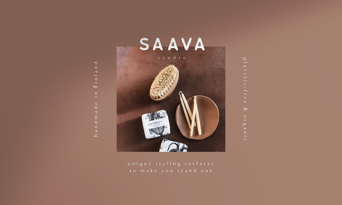 Saava Studio - brand book samples 1 - hnstly