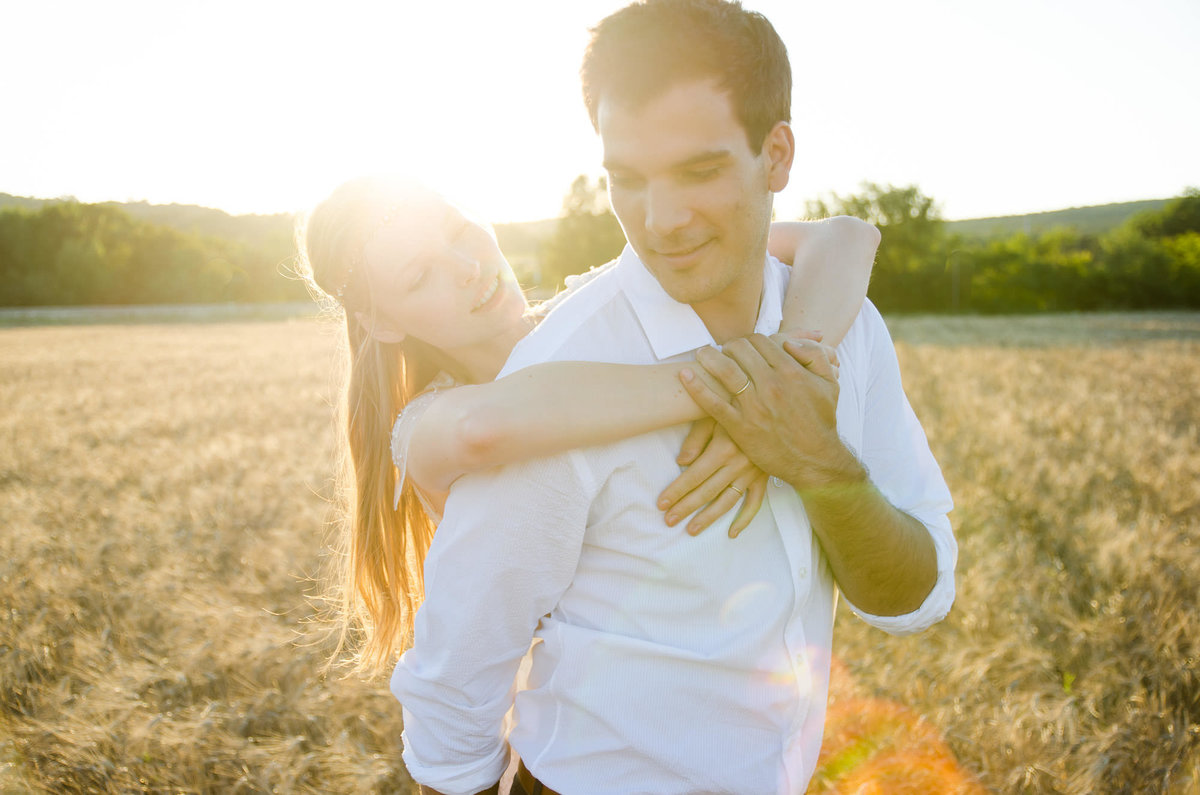 Beautiful Pre-Wedding Session Avignon