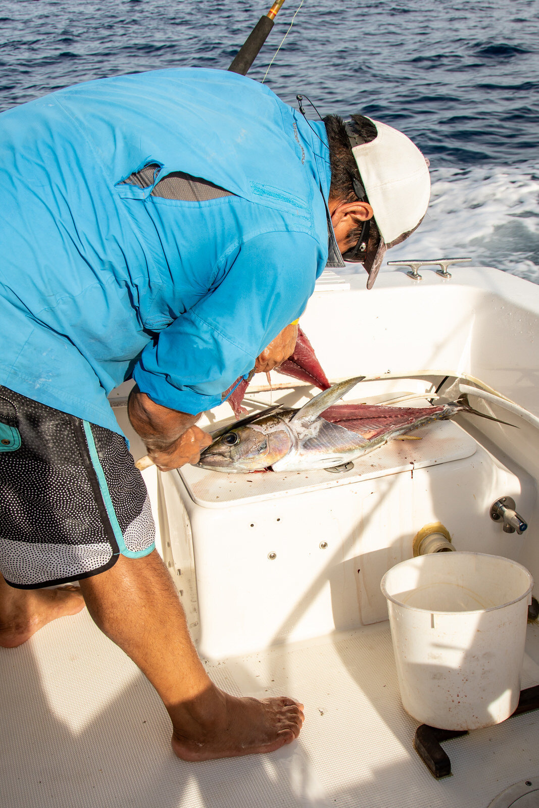 Deep sea fishing in Tamarindo, Costa Rica.