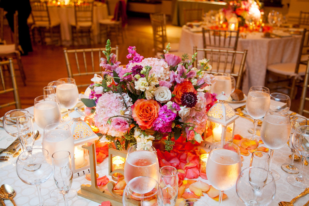 NYC Manhattan Penthouse Wedding Planner Colorful K. Barner Events 19