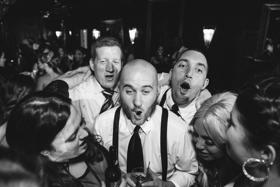fun reception photography